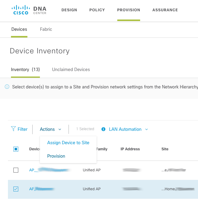 Wireless Assurance with Cisco DNA Center - WifiReference com